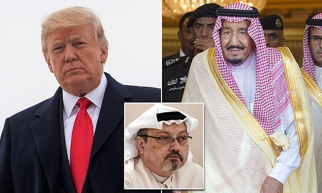 Trump to raise case of 'murdered' journalist with Saudi Arabia's king