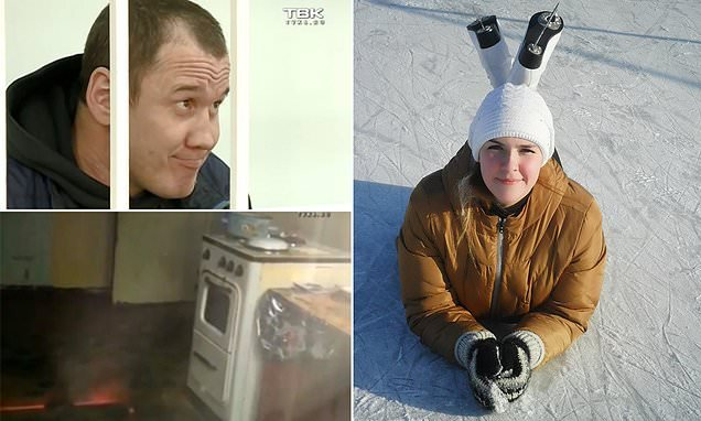 Russian cannibal killed his lover, 27 before boiling her body parts