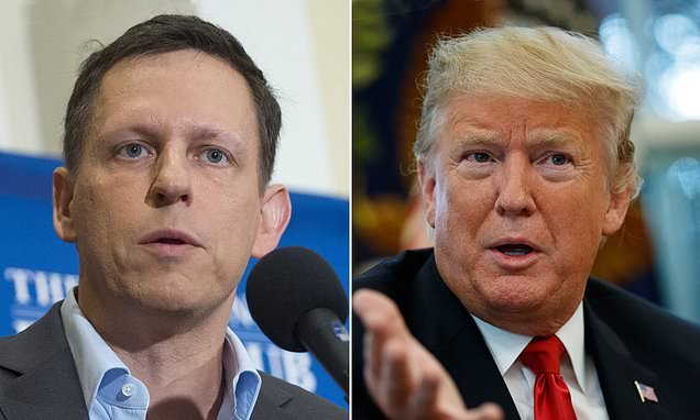 PayPal cofounder Peter Thiel donates $250,000 to Trump re-election