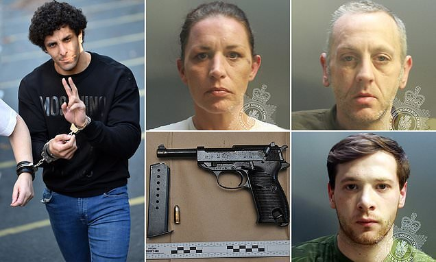 County lines drugs gang are jailed for more than 30 years