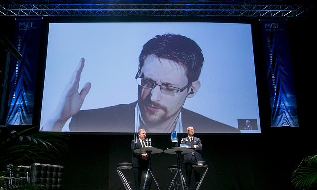NSA whistleblower Edward Snowden says he's not safe in Russia