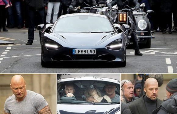 Fast and the Furious spin-off filming in Glasgow