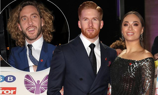 Strictly's Katya Jones joins Neil on red carpet for FIRST TIME
