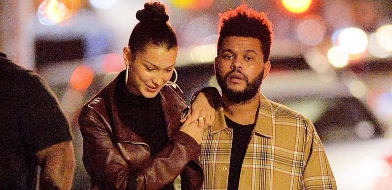 Bella Hadid's Leather Coat Is Perfect For Date Night — Just Ask The Weeknd