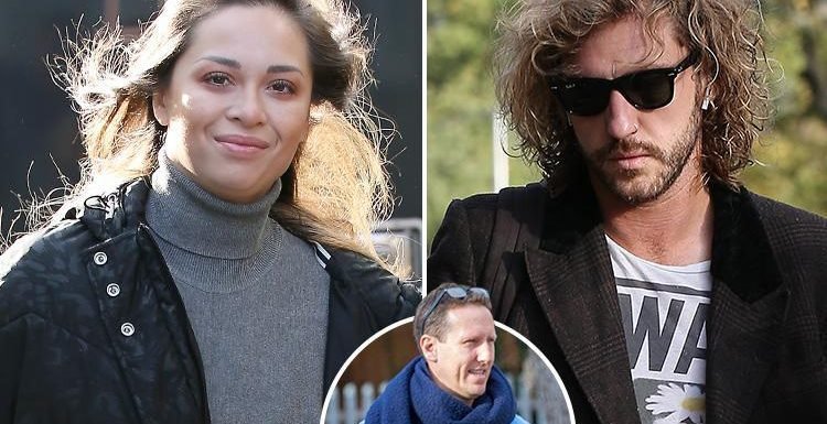Strictly's Seann Walsh and Katya Jones turn up for show rehearsals with sacked Strictly star Brendan Cole