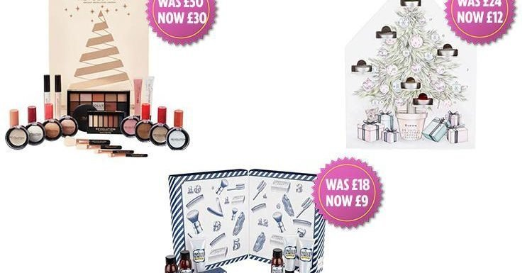Superdrug has slashed the price of its beauty advent calendars by up to 50 per cent… and shoppers are going wild