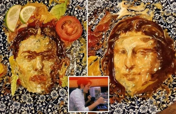 Teen artist turns the leftovers from her Wetherspoons meal into masterpieces