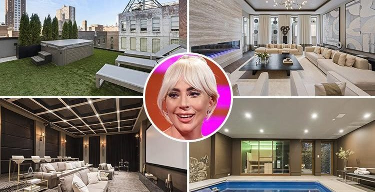 Lady Gaga splashing her A Star Is Born earnings on £22m New York townhouse with pool, home cinema wine cellar
