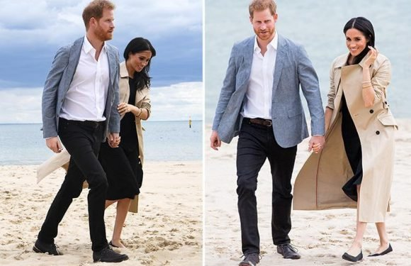 Why Meghan Markle wasn't allowed to wear flip-flops to the beach on day three of Australia tour