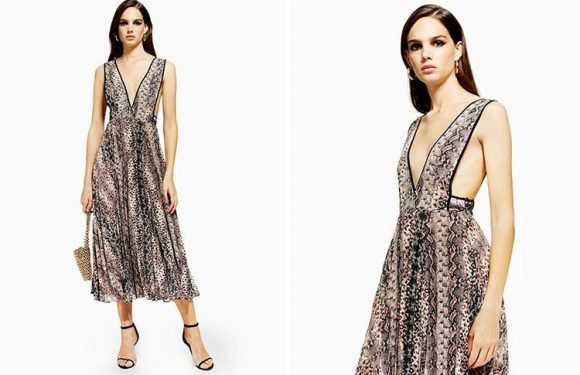 Topshop has released a seventh version of THAT dress in this season's hottest print – and fashion experts claim it's the most stylish yet