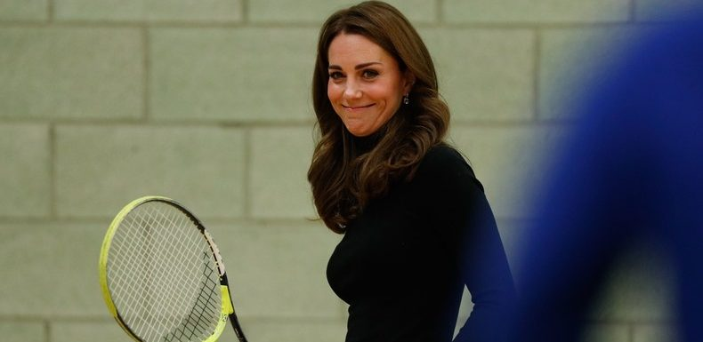 How Does Kate Middleton Look So Chill While Playing Tennis in Heels?