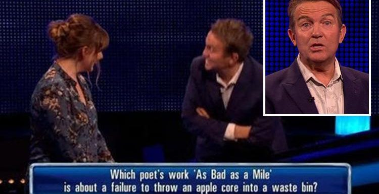 The Chase fans in stitches as Bradley Walsh is left baffled by contestant Olivia who admits she's there because 'my friends told me to come'