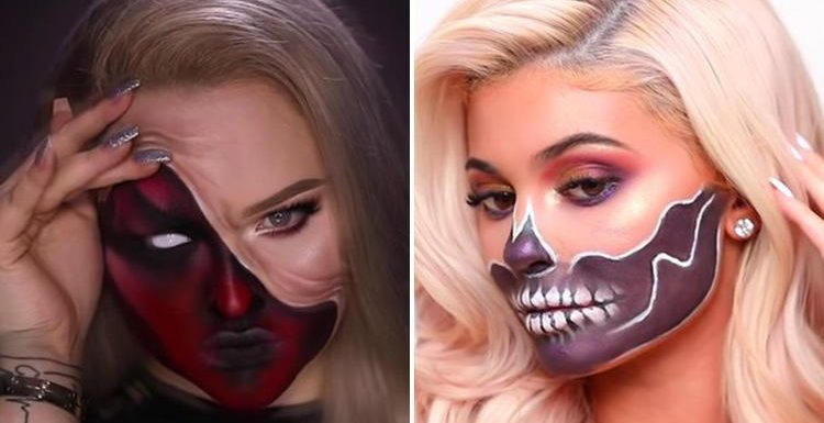 From a devilish demon to a sordid skull… six amazing makeup tutorials to spook up your Halloween party look