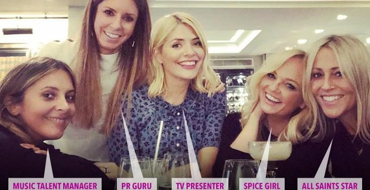 Inside Holly Willoughby's VERY glam inner circle, including a Spice Girl and Liam Gallagher's ex (but where's Fearne Cotton?)