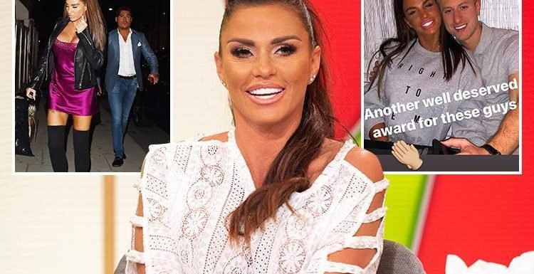 Katie Price rowed with Alex and accused of him of being in love with his ex – before dashing to Kris's party after fearing other women were there