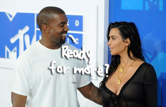 Kanye West 'Harassing' Kim Kardashian To Have More Kids!