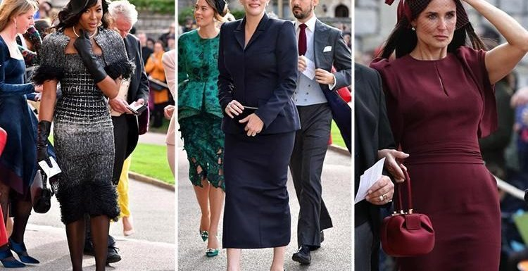 Naomi Campbell, Ellie Goulding, Demi Moore, Kate Moss and Liv Tyler among stars to arrive at Royal Wedding