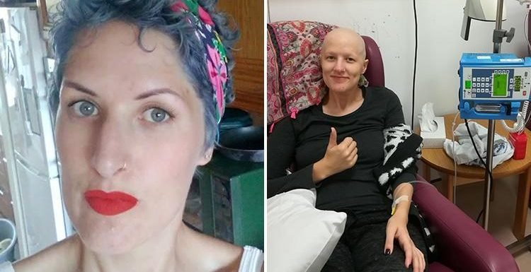 Woman, 30, forced to sit in a bath of her own blood after GPs repeatedly missed signs of 10cm cancerous tumour in her vaginal wall