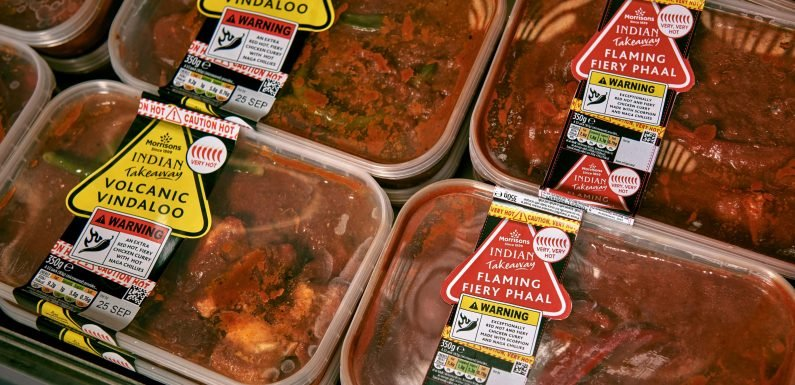 Morrisons selling 'hottest supermarket curry ever' after shoppers complained its Vindaloo 'not hot enough'