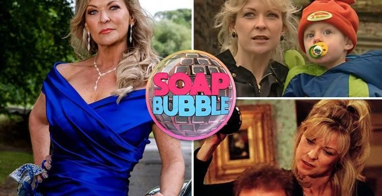 Emmerdale's Claire King reveals Kim Tate's missing son James will be just as bad as his murderous mother