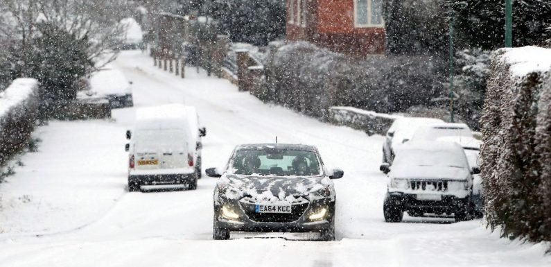 Snow on the way as early winter freeze grips UK with sub-zero temperatures