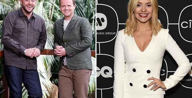Holly Willoughby is being paid a massive six figure deal to replace Ant McPartlin on I'm a Celebrity Get Me Out Of Here
