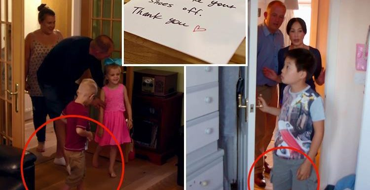 Rich House, Poor House viewers outraged as wealthy family order struggling counterparts to take off their shoes in their mansion but don't do the same in their flat