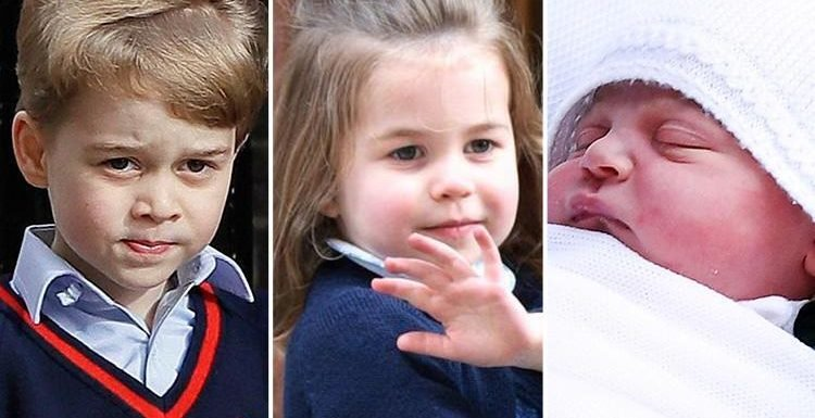 Who are Prince George, Princess Charlotte and Prince Louis named after and when were the royal baby names announced?