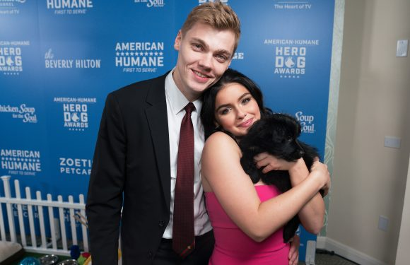 Ariel Winter and Her Boyfriend Cuddle Up to Their Pup, Plus Jada Pinkett Smith, Prince Harry & More
