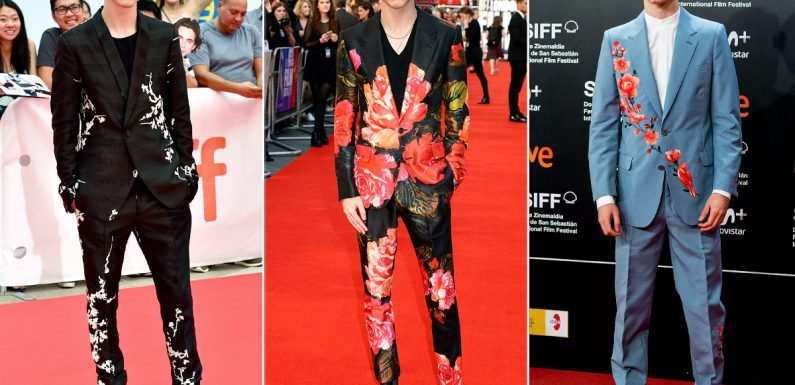 Every Time One of Timothée Chalamet's Suit Made Us Do a Double-Take