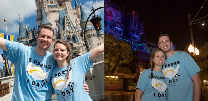 This Devoted Disney Couple Visited All 6 US Parks in a Day, and Excuse Me, HOW?!