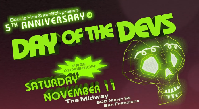 Double Fine and iam8bit's 6th Annual Day of the Devs Returns This November