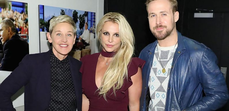 Ryan Gosling Reunites with 'Freakishly Talented' Fellow 'Mickey Mouse Club' Star Britney Spears