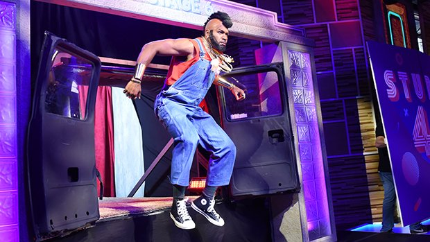 'GMA' Hosts Rock '80s Costumes: Michael Strahan As Mr. T & More — Photos