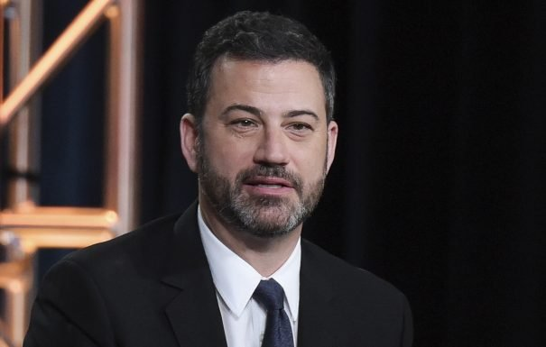 Jimmy Kimmel Applauds Voices In Kanye West Head For Cutting Bait On Donald Trump