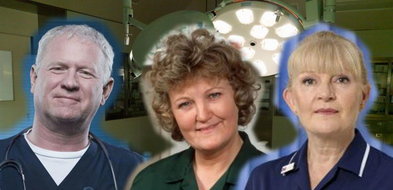 What happened to 10 of the original cast of Casualty? From Charlie's wife Baz to Susie the receptionist