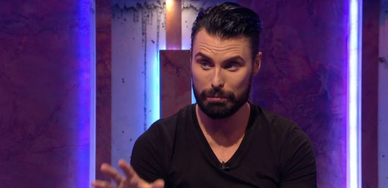 "Big Brother's Bit on the Side host Rylan Clark-Neal responds to claims he ""mocked"" one housemate's anxiety"