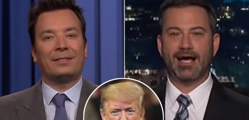 Jimmy Fallon and Jimmy Kimmel Are Sick Over Trump's 'Outrageous' Health Care Op/Ed