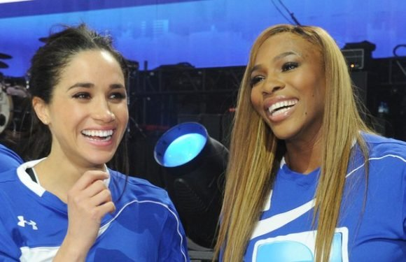 Meghan Markle and Serena Williams's Friendship Includes Matching Blazers