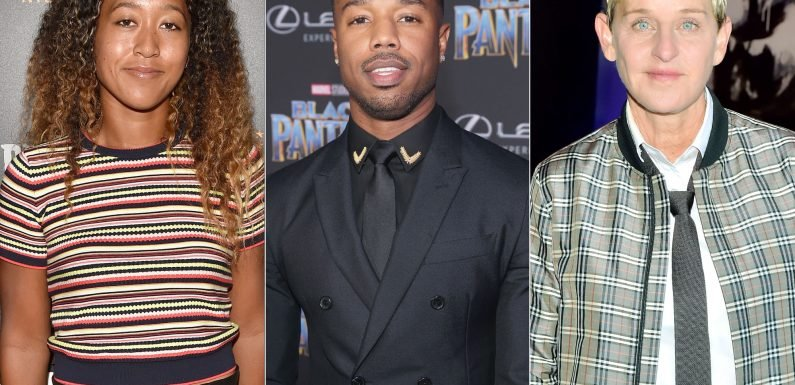 Tennis' Naomi Osaka Lands Date with Michael B. Jordan Thanks to Ellen DeGeneres' Twitter Meddling