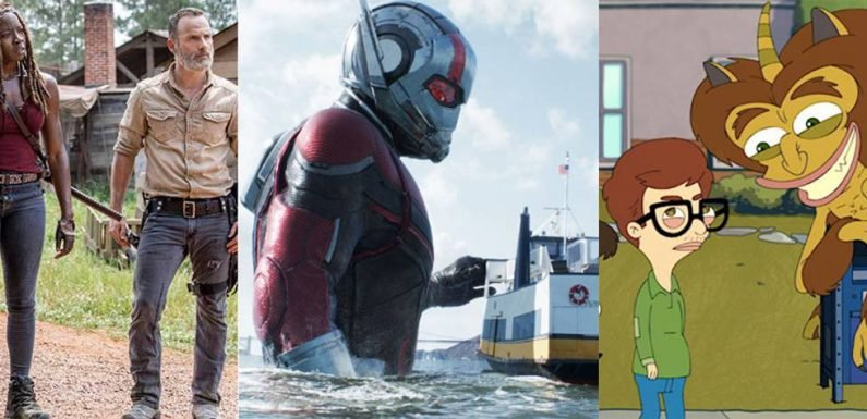 What's New on Digital, DVD/Blu-ray, TV, & Netflix This Week: October 1-7
