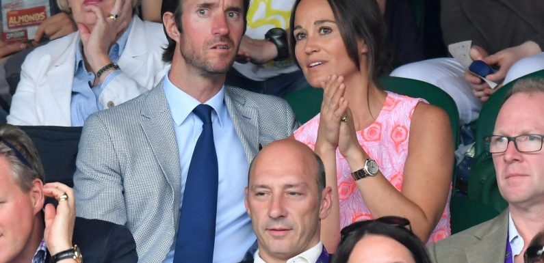 When was Pippa Middleton's wedding to James Matthews, what was her dress like and did she wear her engagement ring on the day?
