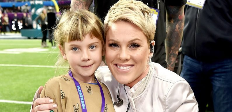 Watch Pink and Her Daughter Adorably Cover This 'Greatest Showman' Tune