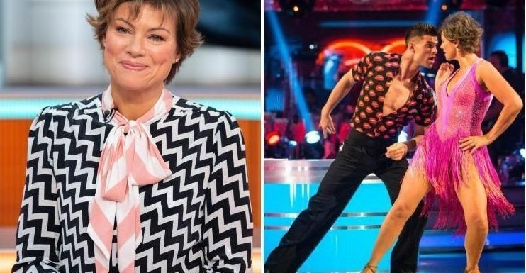 Strictly Come Dancing's Kate Silverton reveals show has helped her lose a stone – and improved her sex life