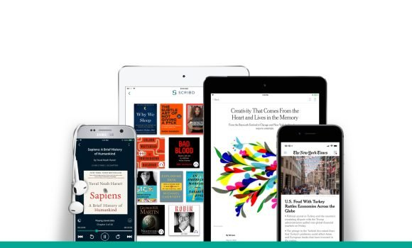 Scribd Bundles New York Times With E-Books, Audio Books for $13 a Month