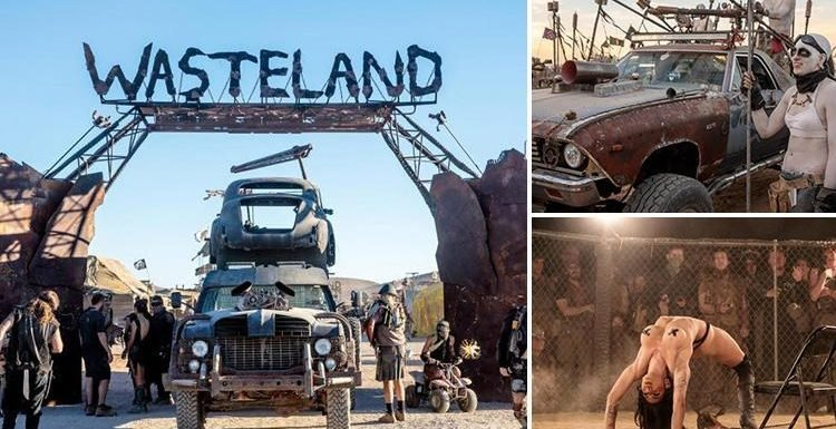 Inside Weekend Wasteland – the world's craziest music festival that mixes a Burning Man-style desert party with Mad Max