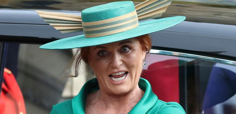 Sarah Ferguson makes waves with outfit, expressions at Princess Eugenie's royal wedding