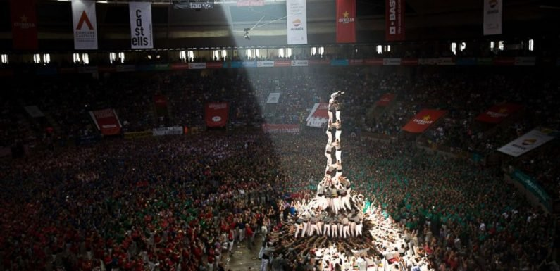 Stunning pictures of Catalonia's 'human towers,' a biannual, historic tradition