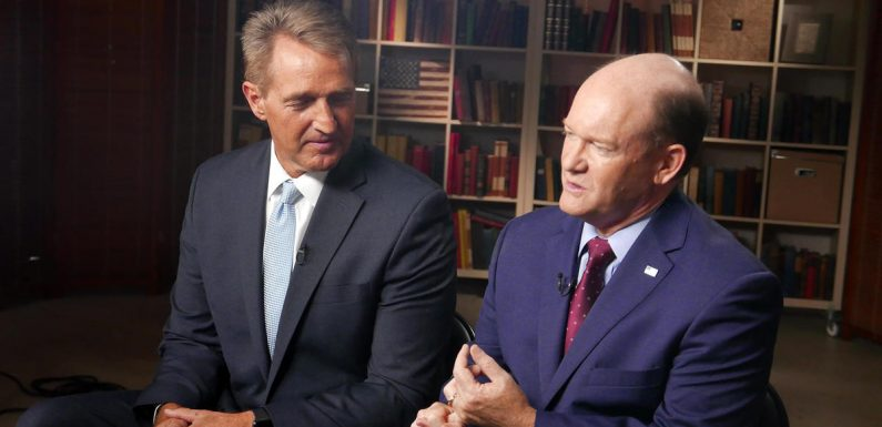 Sens. Jeff Flake and Chris Coons explain why they decided to delay Brett Kavanaugh's confirmation
