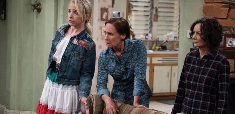 Filming 'The Conners' without Roseanne 'was emotional,' Sara Gilbert says